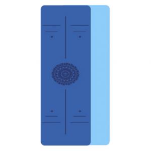 מזרן יוגה מעוצב כחול