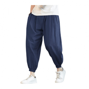 מכנסי יוגה ארוכים לגבר COOFANDY כחול